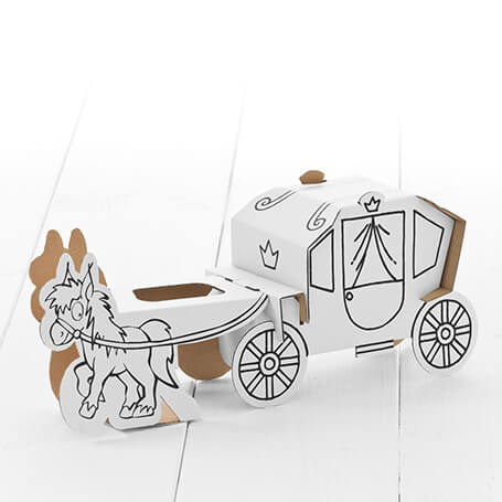Calafant Carriage with Horse