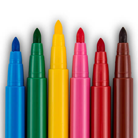 Calafant Felt Pens, washable